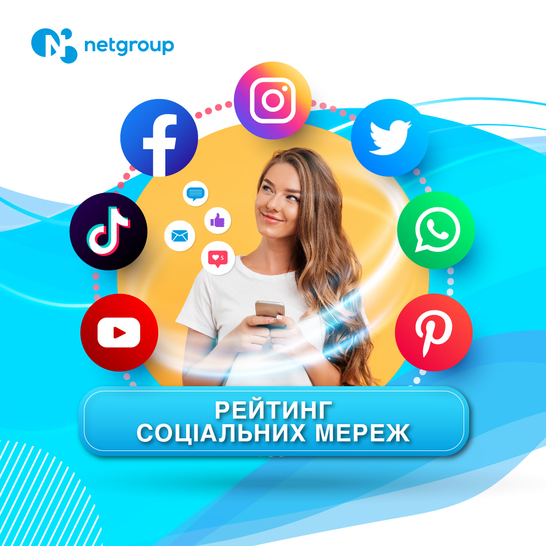 рейтинг соціальних мереж   netgroup